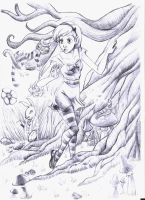 Alice in Wonderland by thio122