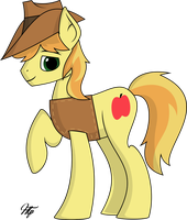 A Late Night Drawing | Braeburn by hudthepony
