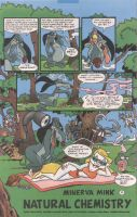 an 3rd Minerva Mink comic pg 1 by Bjnix248