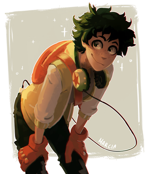 Deku by m-arci-a