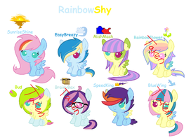 RainbowShy Adoptables OTA by ThePotato-Queen