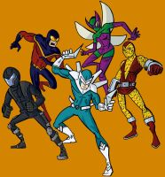 The Superior Foes of Spider-Man by Grodandor