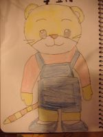 My 7yr old cousin drew this by NikkiandMay