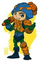 Lil Man-At-Arms by lordmesa