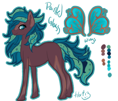 **Painted Glass Reference Sheet by Kama-ItaeteXIII