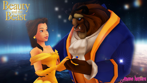 MMD Disney: Beauty And The Beast by AmaneHatsura