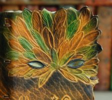 Carnival Mask Book by gildbookbinders