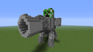 giant creeper gunner by 321kye