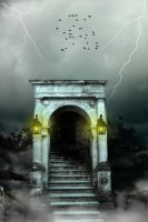 Gotten Entrance Premade Background by SusanaDS-Stocks