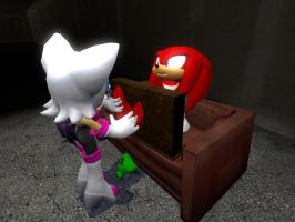 Knuckles is in Trouble 2 by wantwon