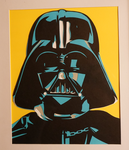 Paper Vader by tripperfunster