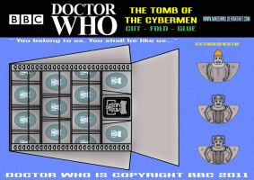 Doctor Who - The Tomb of the Cybermen by mikedaws