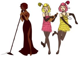 Speakeasy Singers by cookiekhaleesi