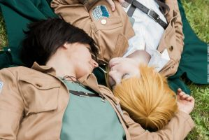 Eren + Armin - Close by Bexxin