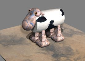 3D CowSheep by H-o-t-G-o-d