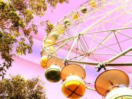 Ferris wheel by pinkpumpkin023