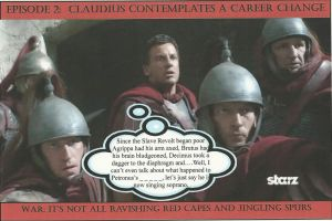 Ep 2: Claudius Glaber Contemplates a Career Change by Darkendrama