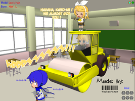 MMD- Let's Bully Kaito by youkou-chan