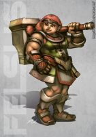 Dwarf Female by Felsus
