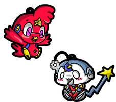 Prototype Pals Charm Design by Crystal-Moore