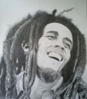 Bob Marley by Marylein