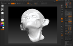 3D Model of a Goblin made in Zbrush by Cyberemite