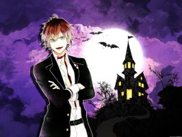 diabolik lovers halloween wallpaper by darkdemon18
