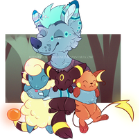 - Fenris - Only cute Pokemon - by FreckledBastard