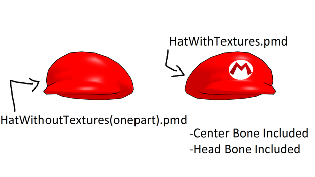 MMD DOWNLOAD - Mario Hat by Kit-Kath-9