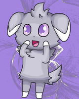 Hello, there, little Espurr by Epismatic