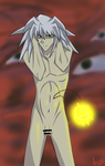 Now you see me to the fullest - Nude Yami Bakura by rainbow-ravens