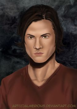 Sam Winchester by Almerious
