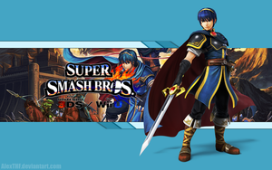 Marth Wallpaper - Super Smash Bros. Wii U/3DS by AlexTHF