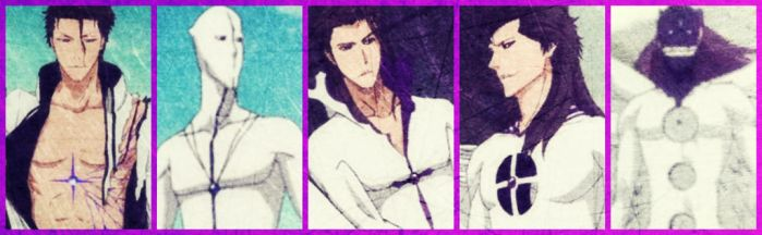 Sosuke Aizen's Transformations by MalGirl101