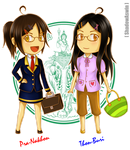 Hetalia APH - the Bangkok Twins by youngthong-art