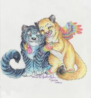 Much love to the Jago by Iris-Cougar