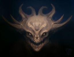 Demon Concept by juannahuel