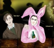 Easter Snape - Perselus by snapefanclub