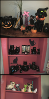 My Cat Collection by GrandmaThunderpants
