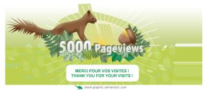 5000 pageviews thanks merci by shark-graphic