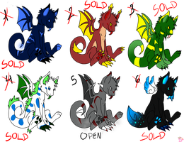 Likaon Adoptables -ONLY NUMBER 5- by Noamon