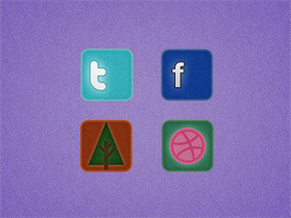 Social Media Icons by Gavinn