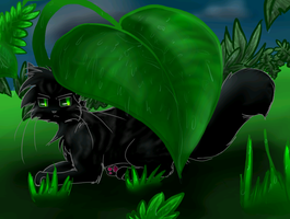 Art Trade: Darknight by Spottedfire-cat