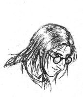 Snape Incognito by hibbary