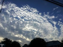 June 18th Cirrocumulus Clouds by LordFrankeh