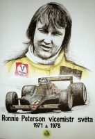 Ronnie Peterson Tribute by machoart