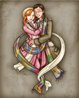 Commission - 4th Doctor Dress-up by Noxychu