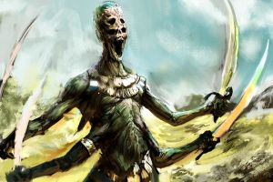 Undead Vosgonian Warrior by Herckeim