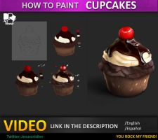 Tutorial cupcakes by JesusAConde