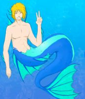 Zach the Merman by Lady-Dragon-Rider
